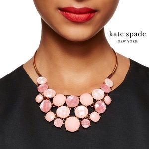 Kate Spade Smell The Roses Bib Necklace